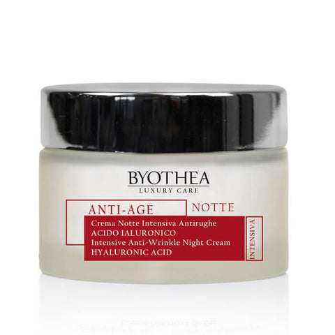 Byothea Intensive Anti-Wrinkle Night Cream Hyaluronic Acid 50ml - Brands Now
