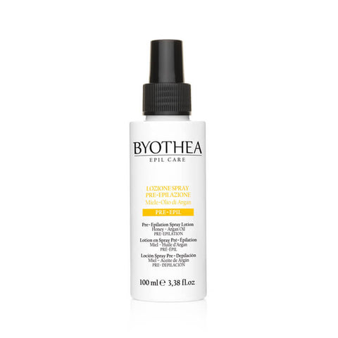 Byothea Pre Epilation Spray Lotion Honey And Argan Oil 100ml - Brands Now
