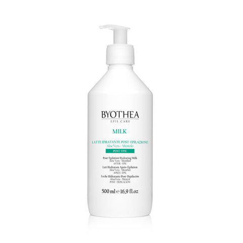 Byothea Post Epilation Hydrating Milk Aloe Vera And Menthol 500ml - Brands Now