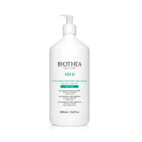 Byothea Post Epilation Hydrating Milk Aloe Vera And Menthol 1Ltr - Brands Now