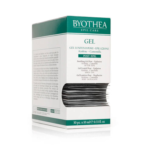 Byothea Soothing Gel Post Epilation Azulene And Camomile 10ml X 30pk - Brands Now