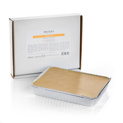 Byothea Depilatory Hot Wax Foil Tray Honey 1Ltr - Brands Now