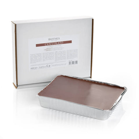 Byothea Depilatory Hot Wax Foil Tray Chocolate 1Ltr - Brands Now