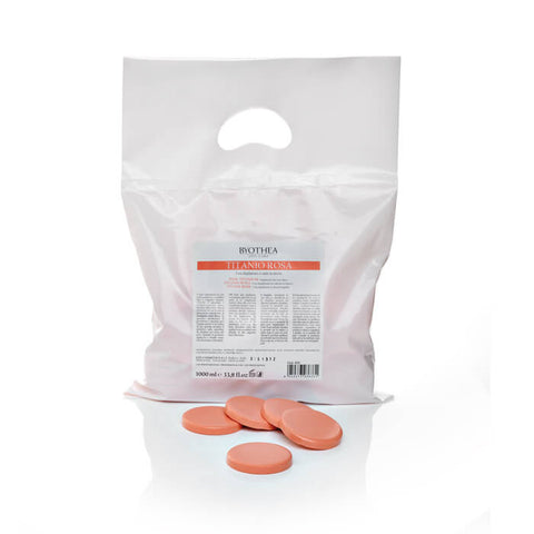 Byothea Depilatory Hot Wax Discs Pink Titanium 1Ltr - Brands Now