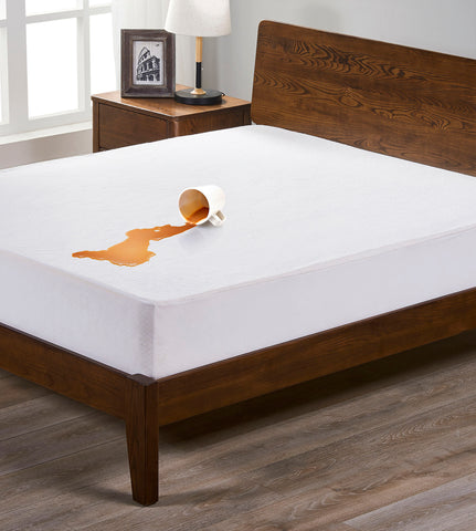 Royal Comfort Bamboo Waterproof Mattress protector - Queen