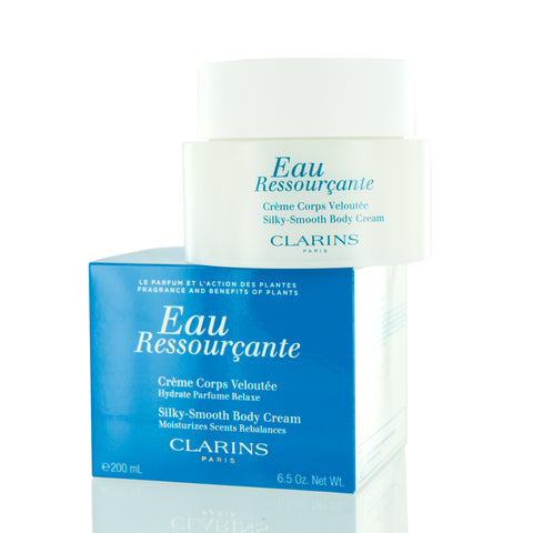 CLARINS EAU RESSOURCANTE SILKY SMOOTH BODY CREAM 6.7 OZ (200 ML)