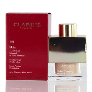 CLARINS SKIN ILLUSION LOOSE POWDER FOUNDATION (110) HONEY 0.4 OZ (13 ML) - Brands Now