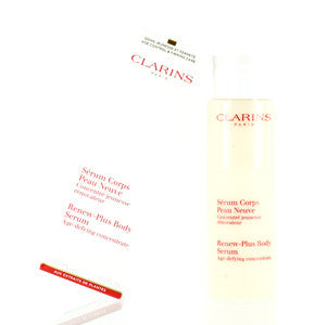 CLARINS RENEW-PLUS BODY SERUM AGE DEFYING CONCENTRATE 6.8 OZ (200 ML)