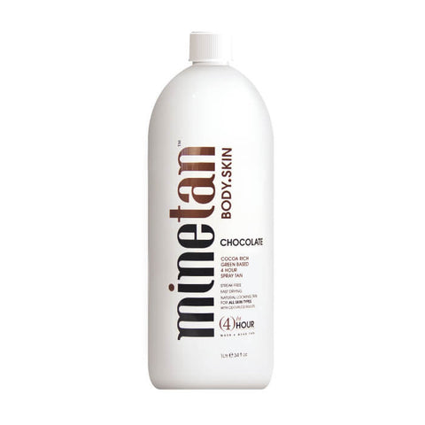 Mine Tan Solution Chocolate 1ltr - Brands Now