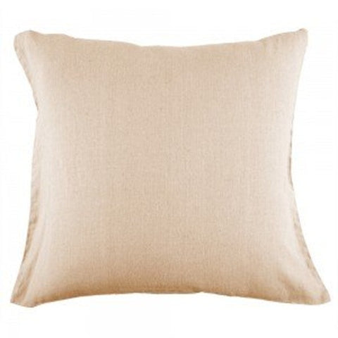 French Luxe Neutral Linen Pillow Case 65x65cm - Brands Now