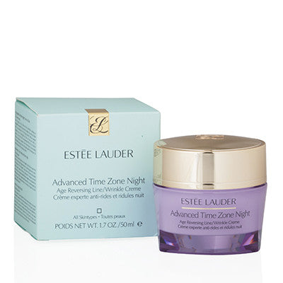 ESTEE LAUDER ADVANCED TIME ZONE NIGHT AGE REVERSING LINE/WRINKLE CREAM