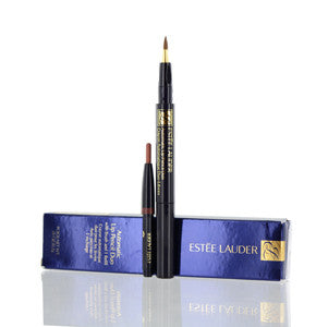 ESTEE LAUDER AUTOMATIC LIP PENCIL DUO 01 SPICE .01 OZ WITH BRUSH AND 1 REFILL - Brands Now