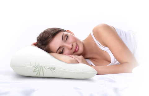 Deluxe Bamboo Memory Foam Pillow