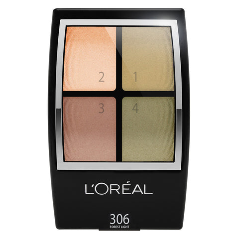 Wear Infinite Studio Secrets Eye Shadow Quad #306 FOREST LIGHT - Brands Now
