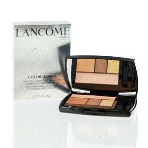 LANCOME COLOR DESIGN 5 SHADOW & LINER PALETTE 101 BRONZE AMOUR .141 OZ