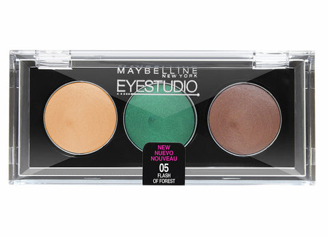 Eye Studio Color Gleam Cream Eyeshadow Trio #05 FLASH OF FOREST - Brands Now