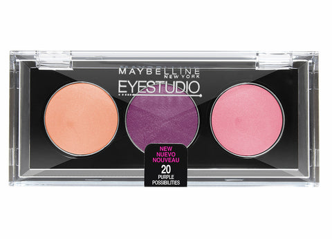 Eye Studio Color Gleam Cream Eyeshadow Trio #20 PURPLE POSSIBILITIES - Brands Now