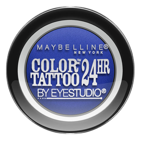 Color Tattoo by Eye Studio 24hr Eyeshadow #75 ELECTRIC BLUE - Brands Now
