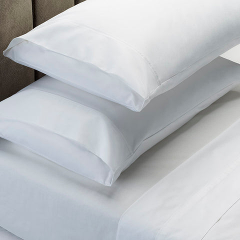 Royal Comfort 1000 TC Cotton Blend sheet sets Double - White