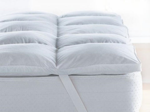 Royal comfort -Deluxe goose mattress topper -king    1000gsm - Brands Now