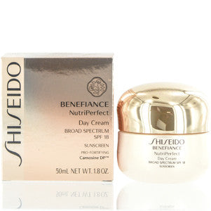 SHISEIDO BENEFIANCE SPF 18 NUTRI PERFECT DAY CREAM 1.8 OZ (50 ML)BROAD SPECTRUM