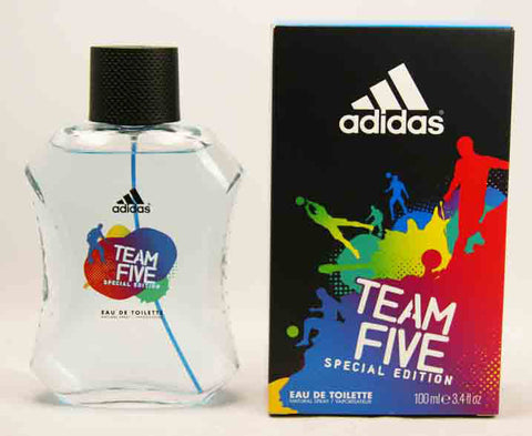 ADIDAS TEAM FIVE SPECIAL EDITION EDT SPRAY 100ML - Brands Now