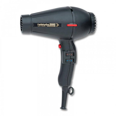 Twin Turbo 3800 Eco Ceramic & Ionic Hair Dryer Black - Brands Now