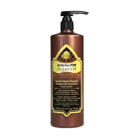 Babyliss Pro Argan Oil Moisturising Repair Shampoo 975 Ml - Brands Now