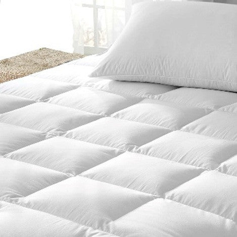 Royal Comfort Duck Feather and Down Mattress Toppers Single - Brands Now