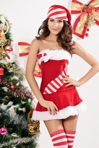 Candy Cane  Chiristmas Costume