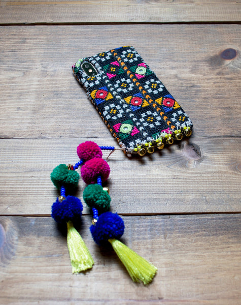 TOKYO - Hand Embroidered iPhone Cover