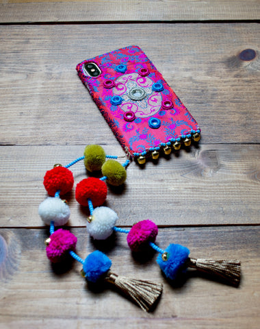 JAIPUR - Hand Embroidered iPhone Cover