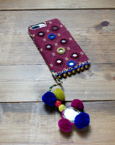 DOHA - Hand Embroidered iPhone Cover
