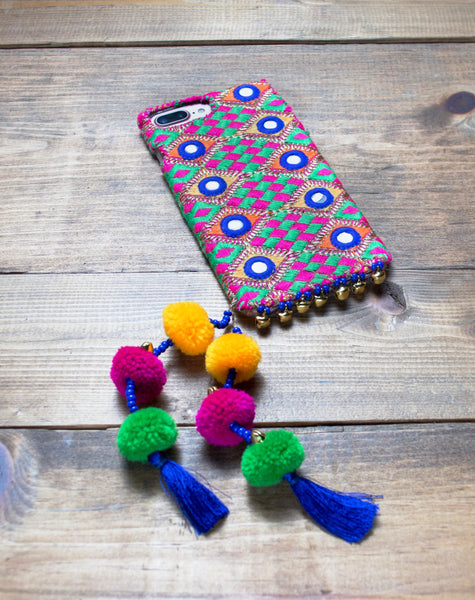 TOPAZ - Embroidered iPhone Cover