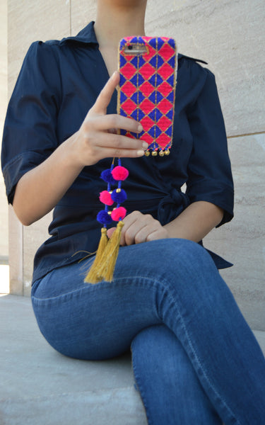 LEELA - Embroidered iPhone Cover