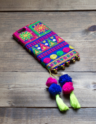LAPIS - Embroidered iPhone Cover