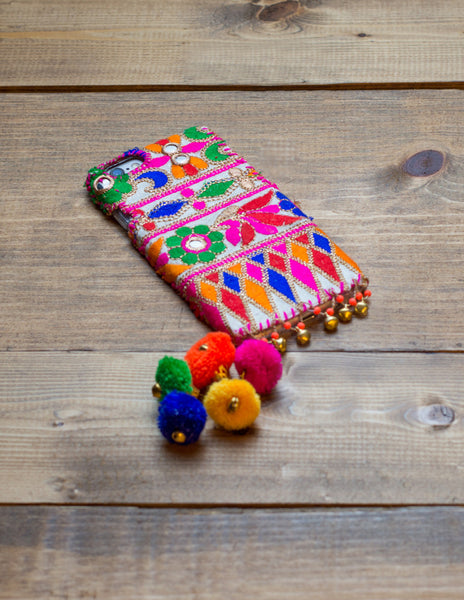 CITRINE - Embroidered iPhone Cover