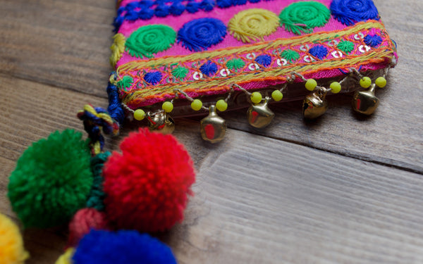 SAFORANI -  Embroidered iPhone Cover