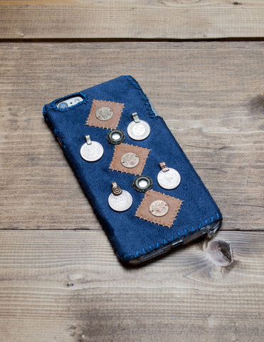 INDUS - Hand Embroidered iPhone Cover
