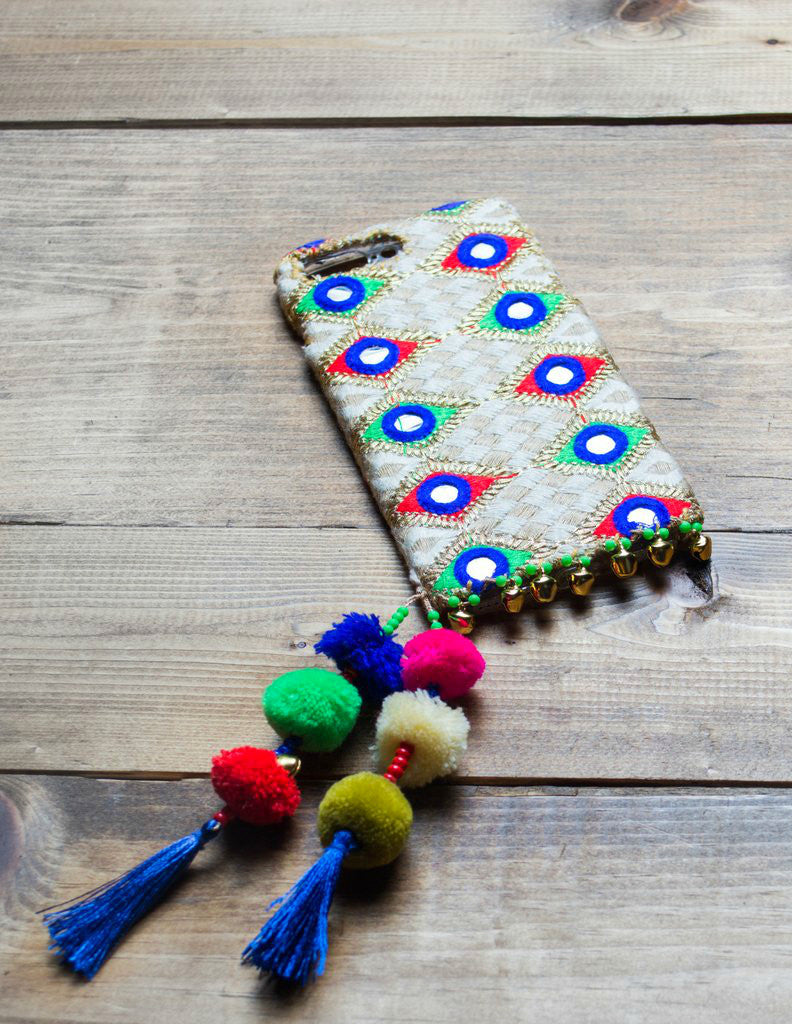 OPAL - Embroidered iPhone Cover