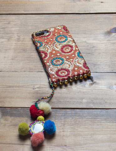 SAHARA - Embroidered iPhone Cover