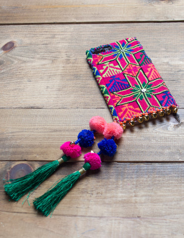 RIO - Hand Embroidered iPhone Cover