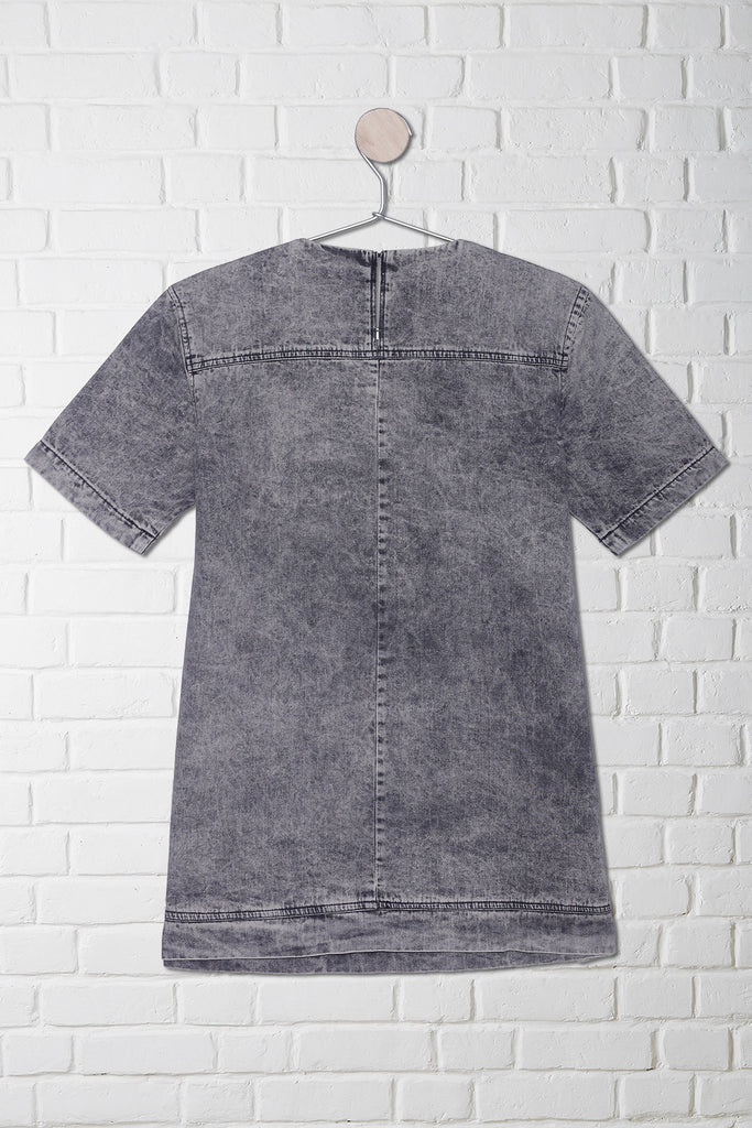 loose denim t