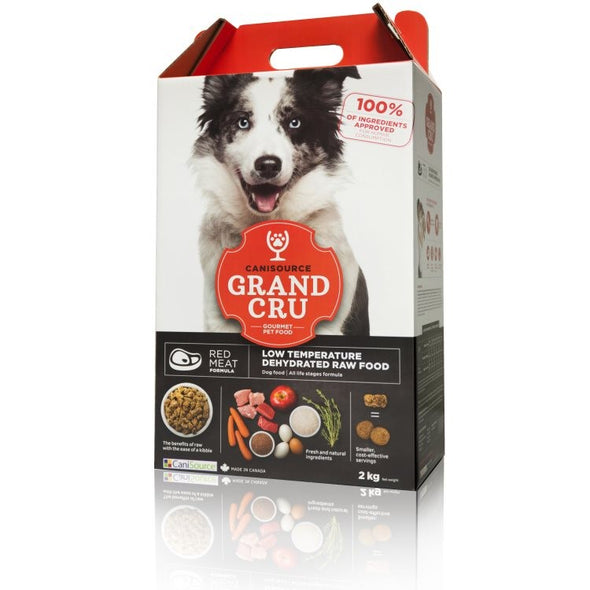 Canisource Grand Cru Red Meat Formula for Dogs *SPECIAL ORDER*