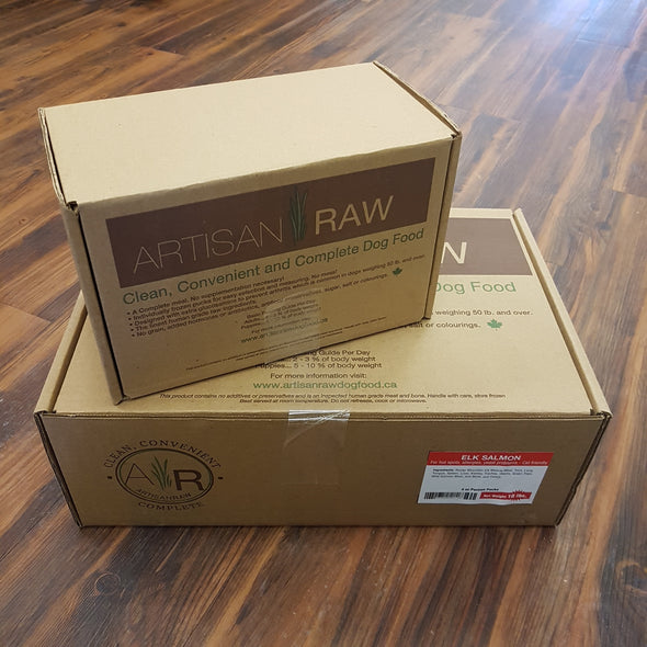 Artisan Raw Elk and Salmon Meal (4745567961147)
