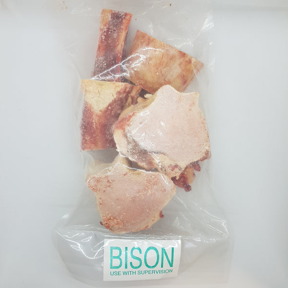 Nature's Premium Bison Marrow Bones (4820213366843)