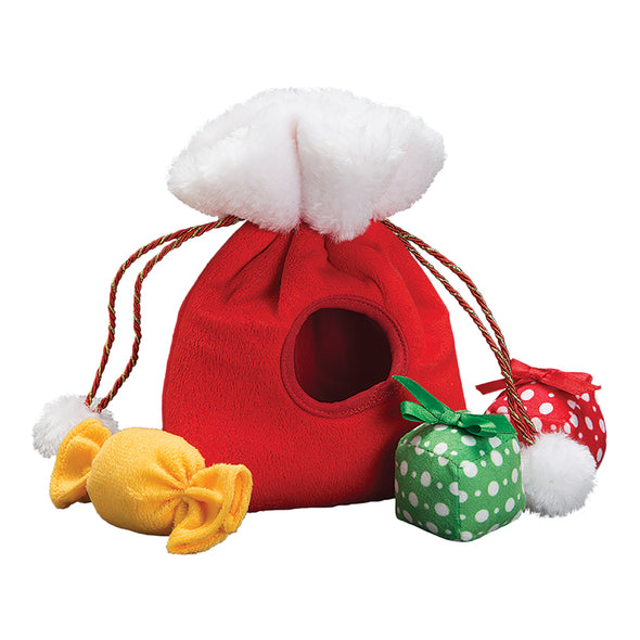 Christmas Santa Bag with Presents & Candy Plush Toy (6074400374957)