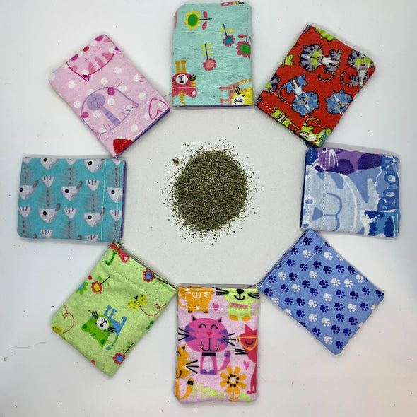 Refillable Catnip Pillow