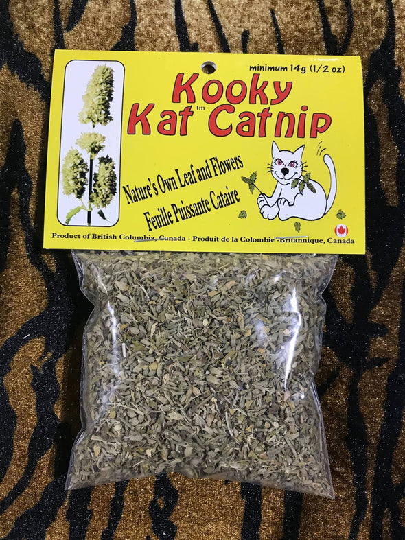 Kooky Kat Catnip Leaf and Flowers (4834157625403)