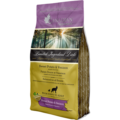 Canadian Naturals Grain Free Venison & Sweet Potato for Dogs *Special Order* (5502203134106)